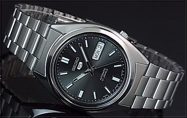 BRIGHT: SEIKO/SEIKO5 Automatic Men's watch Stainless steel band Gun meta color Dial MADE IN JAPAN reverse import model SNXS79J1 | Rakuten Global ...