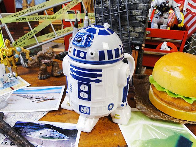 【楽天市場】スターウォーズの3Dマグカップ(R2-D2) ■ アメリカ雑貨 アメリカン雑貨 スター...
