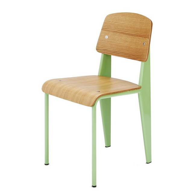 chaoscollection Jean Prouve standard chair green