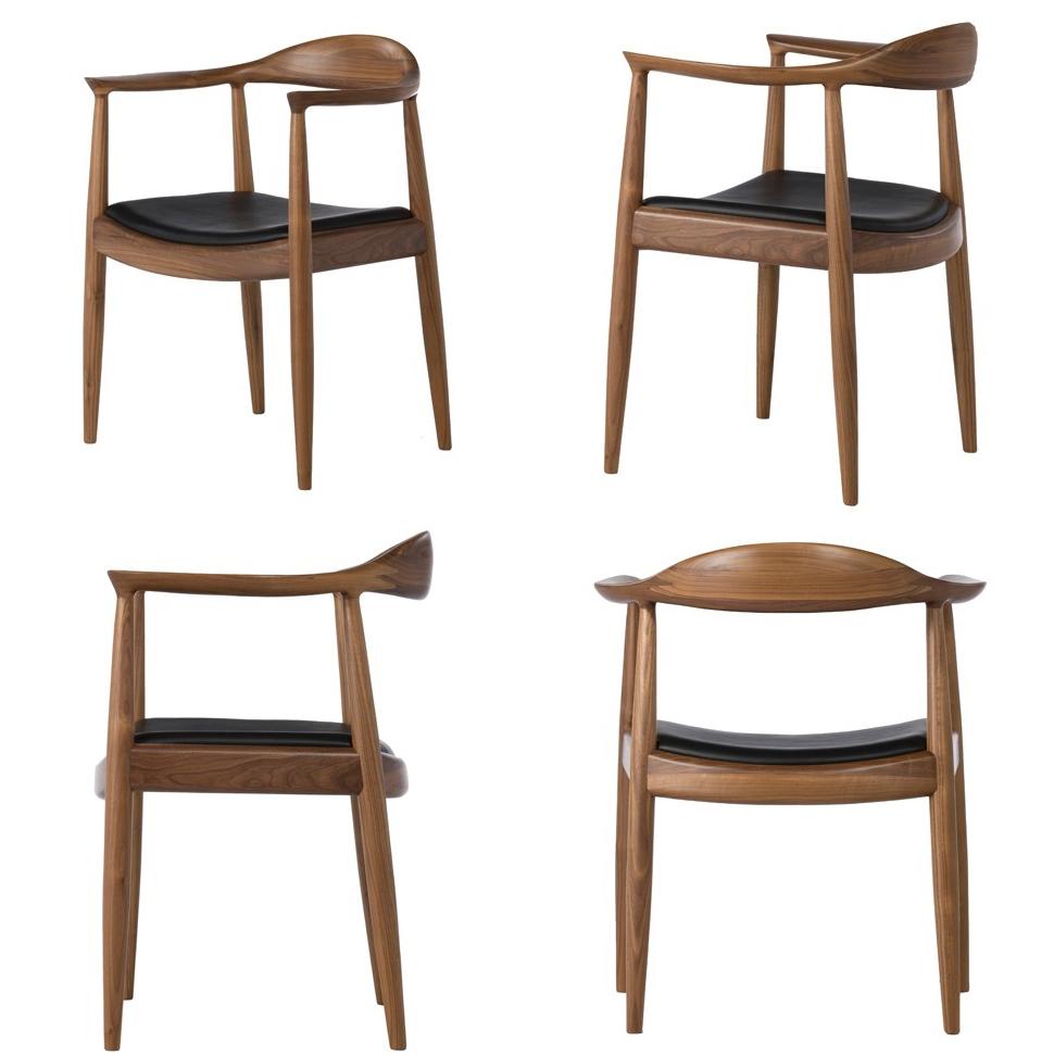 the chair little girl chaoscollection hans j wegner walnut high quality version
