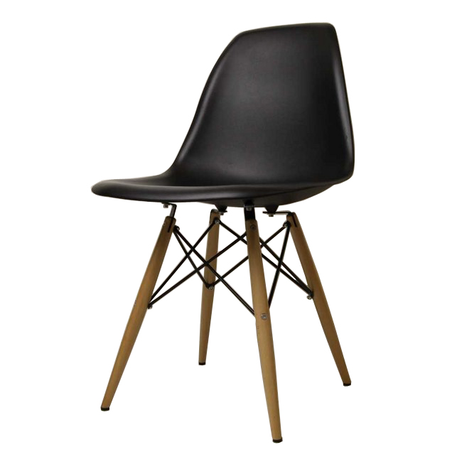 black eames chair rocking chairs for nursery under 100 chaoscollection dsw gloss without shell