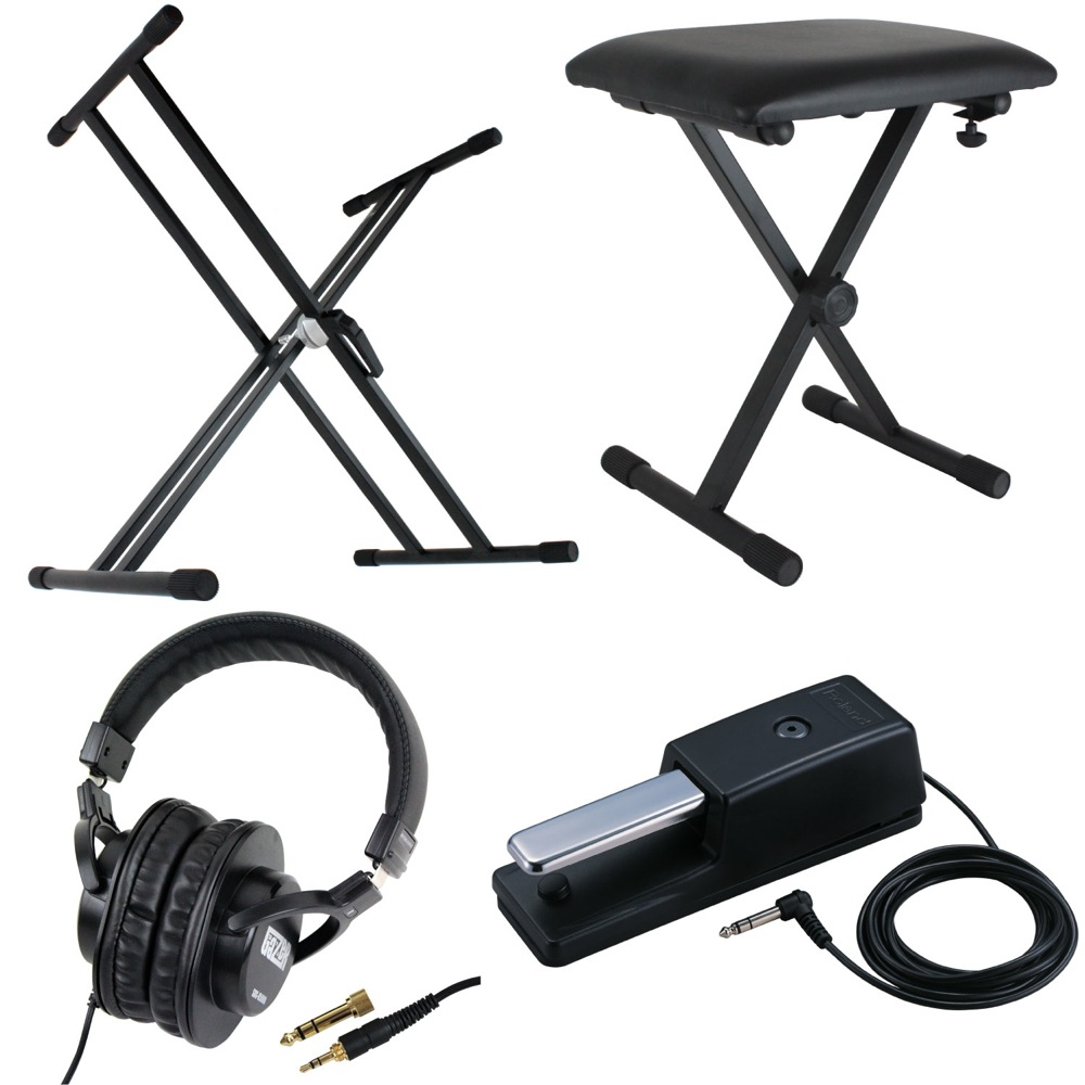 Keyboard Chair Dicon Audio X Type Keyboard Stands Piano Chair Headphones Roland Damper Pedal Electron Piano Accessories Four Points Set