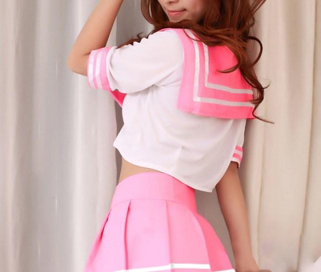 2028 Mini Length Middy And Skirt  E2 96 A1 Costume Play Clothes Costume Costume Play Clothes Koss Sexy Disguise Middy And Skirt High School Girl Uniform Sailor