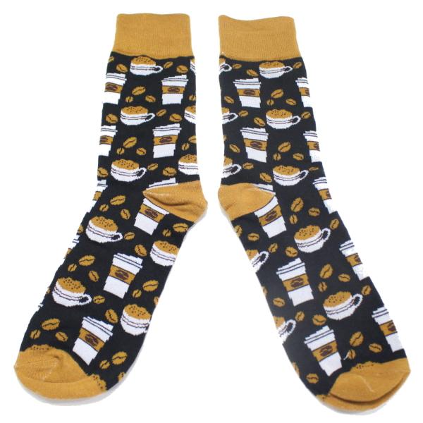 【楽天市場】靴下 カフェ コーヒー メンズソックス ソックス メンズ 男性レッグウエア メンズ...