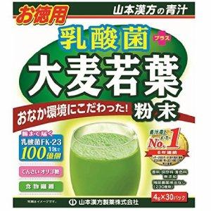daydaybuy: 大麥若葉青汁乳酸菌果蔬纖維代餐粉排毒4gx30袋 | 日本樂天市場