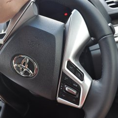All New Vellfire Interior Oli Mesin Grand Veloz Deal Flow Alphard 30 Private Parts Steering Garnish Handle Frame Dress Up Custom Accessories Toyota El V Vl Gf G