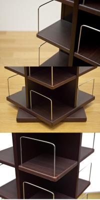 e-living: Revolving CD & DVD storage rack | Rakuten Global ...