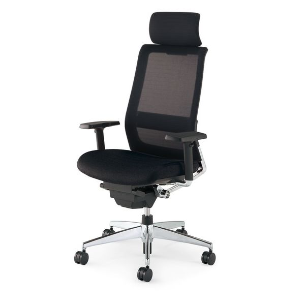 revolving chair bd price office surabaya economy with kokuyo airfort air fort top and bottom elbow headrest
