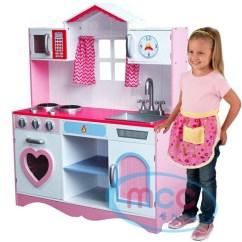 Kids Wood Kitchen Vintage Faucet L 新货 角色扮演厨房安排 大小尺寸女人的孩子小孩厨房玩具玩具木制 大小尺寸女人的孩子小孩厨房玩具玩具木制粉红娱乐场所过家家菜