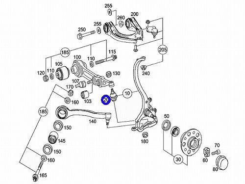 emuzuparts: W215 Mercedes-Benz AMG CL class-LEMFORDER