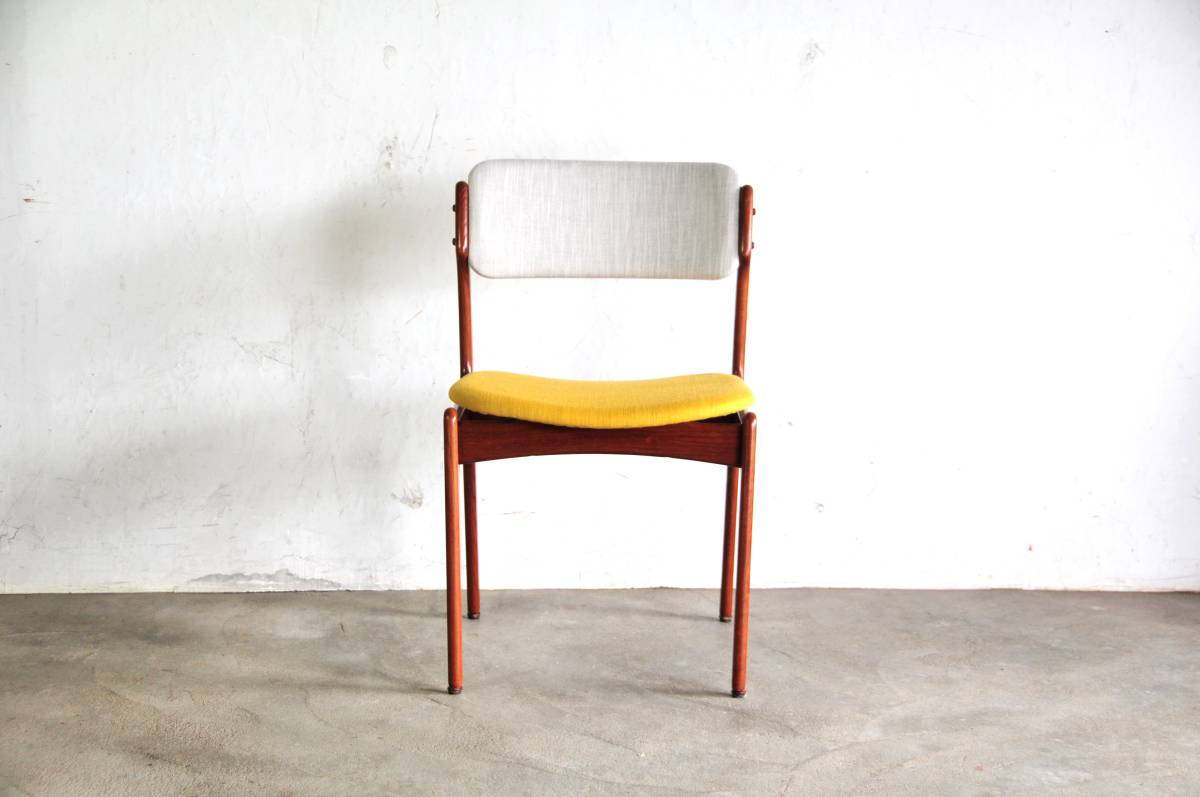 erik buck chairs office for short people fabmod dining chair teak 1230 ウェグナーモーエンセン north europe 1230a