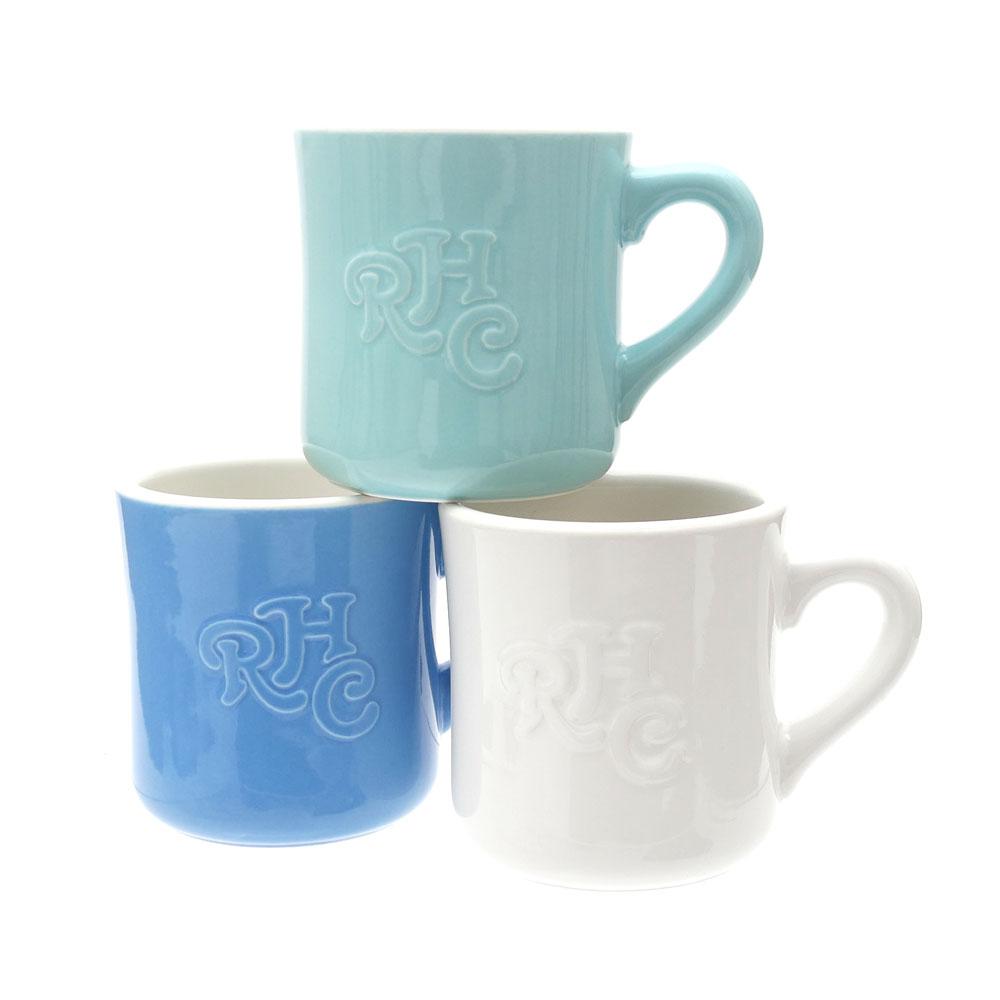 【楽天市場】RHC Ron Herman(ロンハーマン) Emboss Logo Mug (マグカップ) 290-004139-010+【...