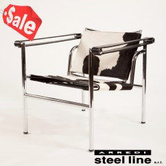 Sling Chairs For Sale Stair Chair Lift Medicare Coverage Genufine Shop 100 Made In Italy Le Corbusier Lc1 Pony Skin Steel Lines Design900
