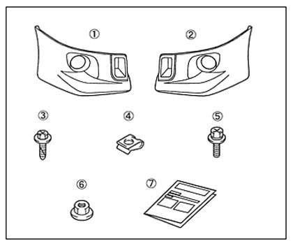 suzuki motors: Voxy front spoiler Toyota genuine parts