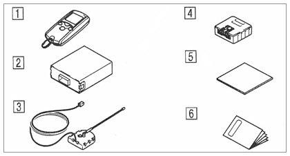 suzuki motors: Mark X remote start unit LCD screen types