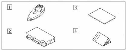 suzuki motors: Trh211 trh216 STD Hiace remote start unit