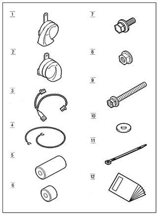 suzuki motors: Ractis プレミアムホーン Toyota genuine parts ractis