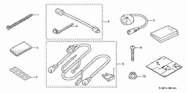 suzuki motors: Civic ambient light Honda genuine parts