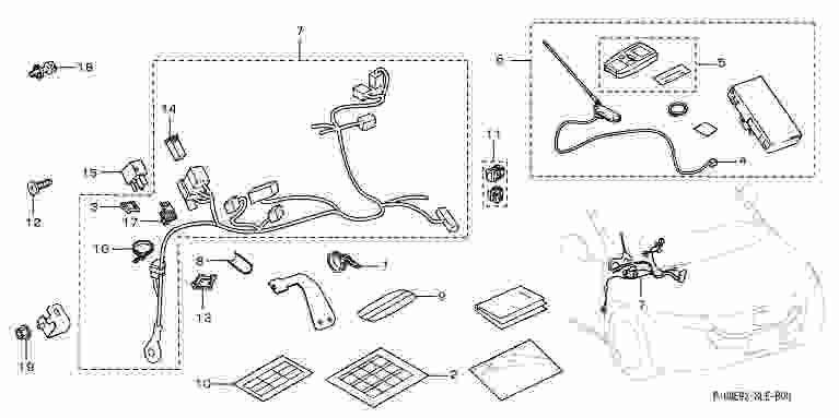 suzuki motors: Odyssey remote engine starter Honda genuine