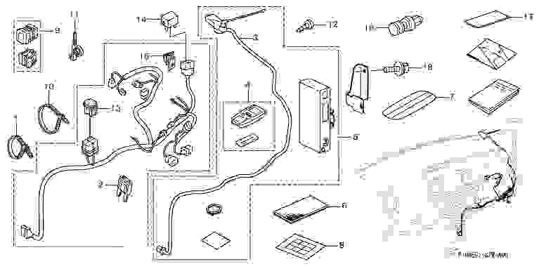 suzuki motors: Parts step wagon parts, Honda remote engine