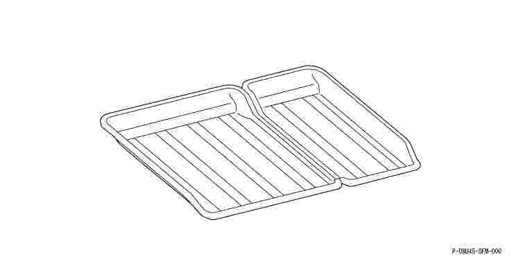 suzuki motors: Drink spike system cargo tray Honda genuine