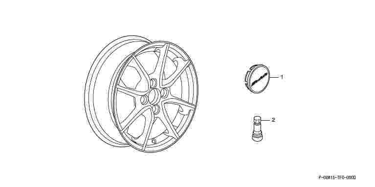 suzuki motors: Fit alloy wheels 15 inch MS-021 * 1 option