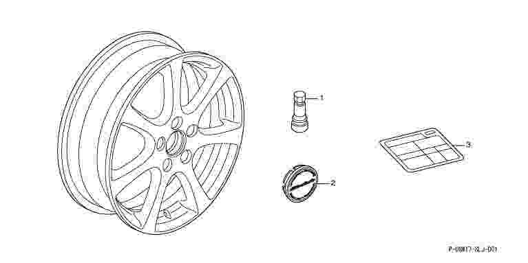suzuki motors: Step WGN Spada alloy wheels (17-inch) MG