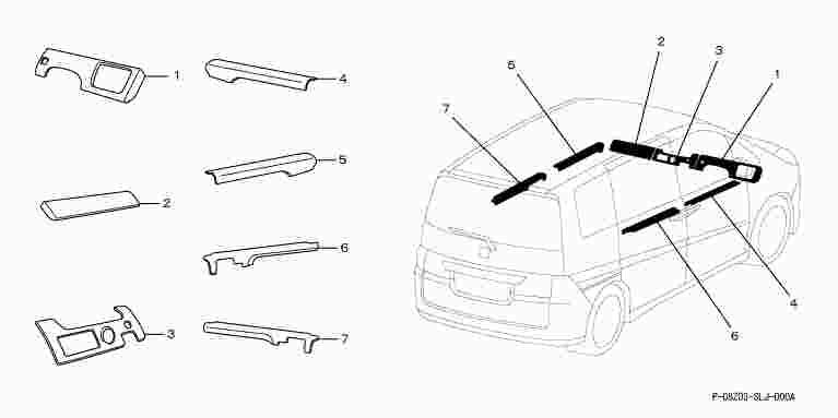 suzuki motors: Step wagon Interior Panel nu metal style