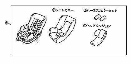 suzuki motors: OE ZGE20 ZGE25 baby NEO G-CHILD ISO baby