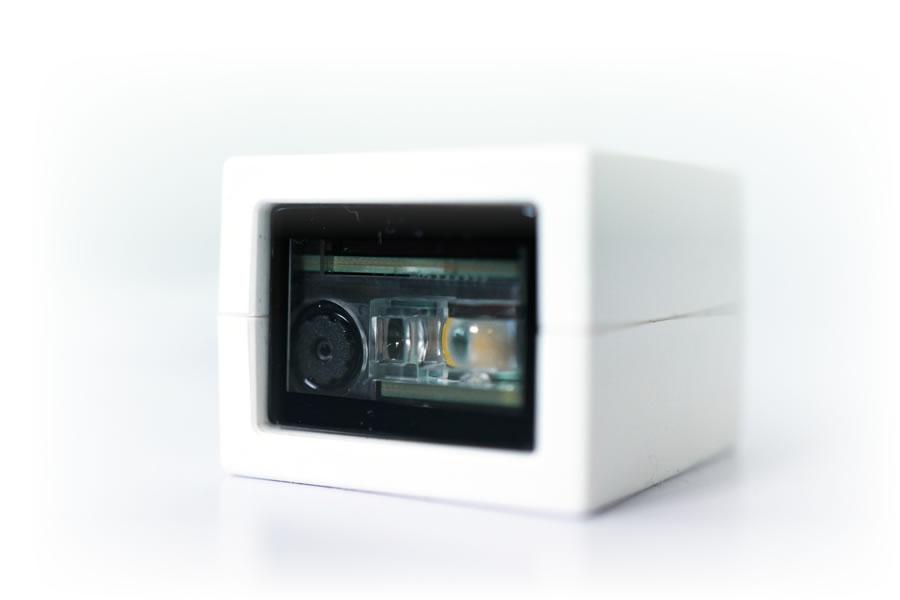 【楽天市場】二次元バーコードリーダー cubeQR-USB 超小型 固定式 3年保証 USB接続 液晶畫面読み取り diBar ...