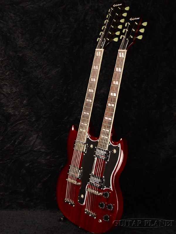 Epiphone Sg Double Neck 6 12