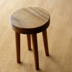 Wood Stool Chair Design Dental Office Waiting Room Chairs Hakusan Woods Tools Solid Natural 木丸 Round Cear Simple Modern Flower Stand Miniterbursaydtableflower Compact Stylish