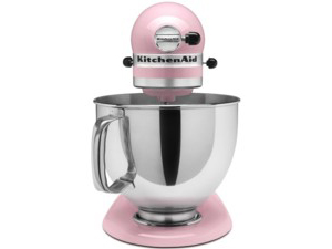 kitchen aid 5 qt mixer homedepot cabinets heartlandtrading 建议kitchenaid kitchenaid 站在搅拌机 粉红色