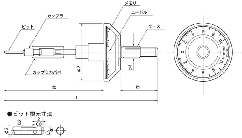 i-TOOLS made in Japan tools store: TOHNICH MTD5MN Small