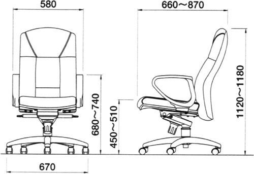 office chair levers rattan repair ii kaguyahime high grade personal leather luxury executive locking under the tilt lever you can angle down in three stages