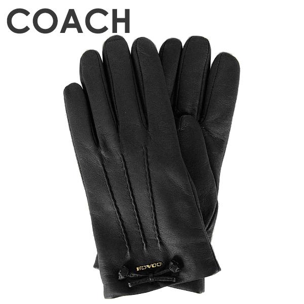【楽天市場】コーチ COACH レディース 小物 手袋 (サイズ7/サイズ7 1/2) F32708 BLK(ブラック)【FKS】:インポート ...