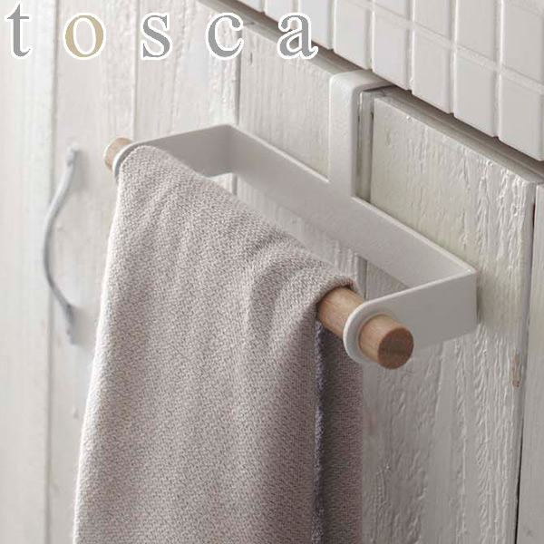 kitchen towel hanger narrow cabinet interior palette tosca wood holder hook tolling storage doors