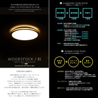 japanbridge: LED ceiling light with remote control LED ...