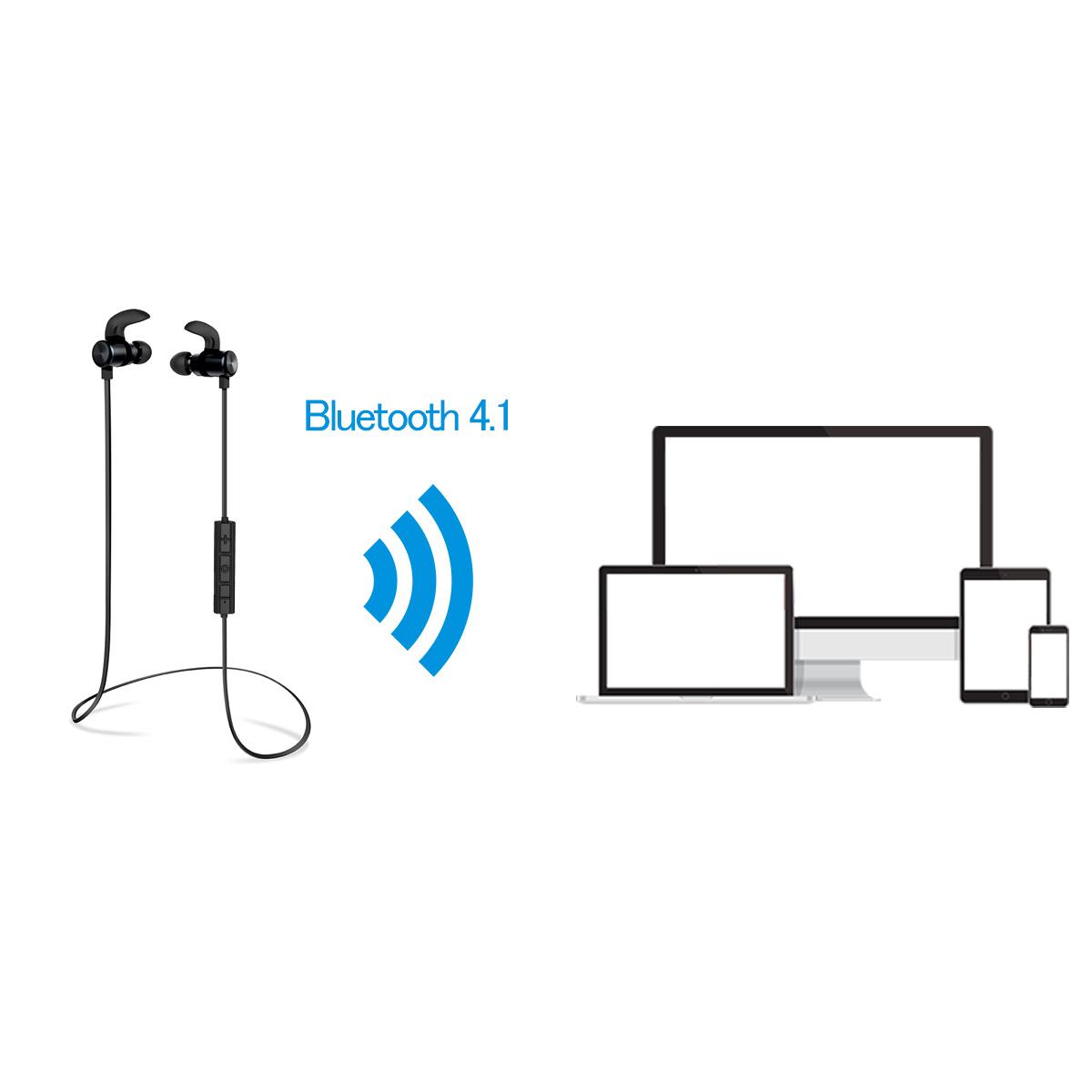 【楽天市場】【Bluetooth イヤホン】S9 スポーツ Bluetooth 4.1 イヤホン 防汗防滴 外れ