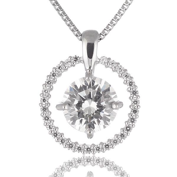 Jewelry SUEHIRO: 鑽石項鏈1克拉1ct白金1粒結婚紀念結婚10周年離職紀念禮物禮物驚奇鑒別字條   日本樂天市場