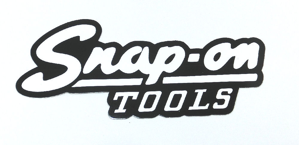 kami-tra: Snap on vintage logo sticker USA pure parallel