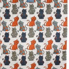 Gray Kitchen Towels Tile Flooring Knotting World Linas再茄子喜愛的貓 貓灰色廚房毛巾廚房交叉花毯 貓灰色廚房毛巾廚房交叉花毯北歐立陶宛亞麻布雜貨