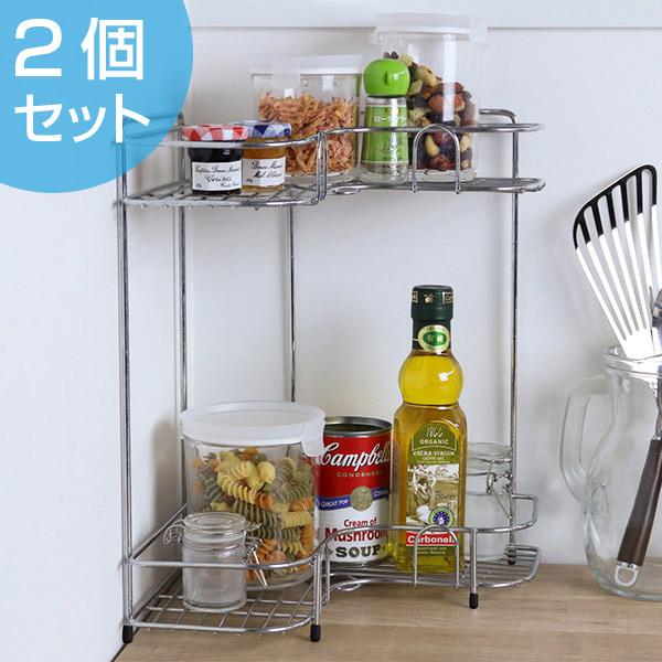 kitchen corner shelf unit livingut 厨房存储l 型角架2 阶段 厨房存储盒厨房存储存储货架接收器在 厨房存储盒厨房存储存储货架