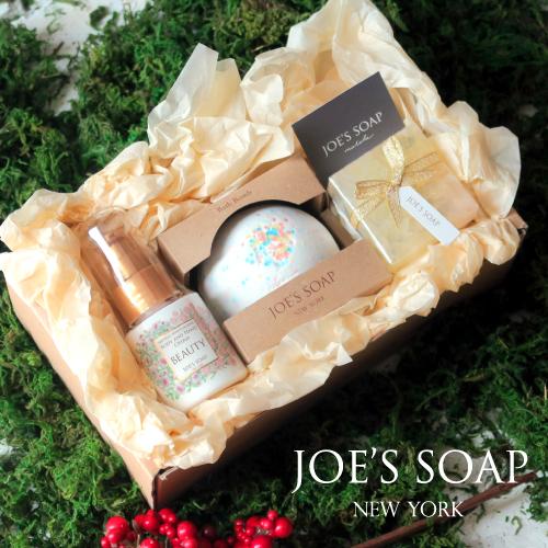 【楽天市場】JOE'S SOAP(ジョーズソープ) ギフトボックス 入浴剤 バスボム セット ハンドクリ...