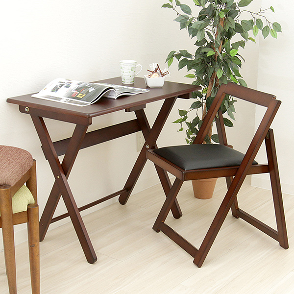 folding desk chair slip cover for marusiyou wood amp two points set wooden and in the