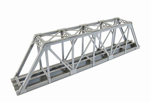 mid-9: Warren truss bridge (paper craft) N gauge structure