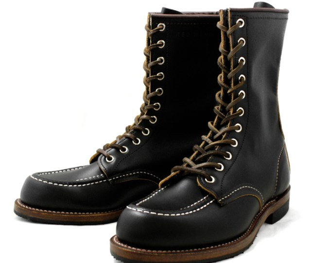Red Wing Genuine Red Wing  Huntsman Stores Limited Model First Regeneration Of Black Huntsman Tea Wick Hunting Boots Work Boots Red Wing Redwing Boots