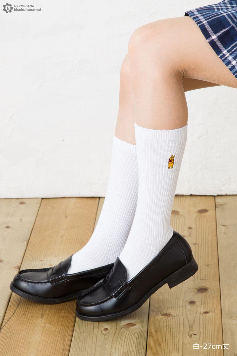 bisokuhanamai: 學校短襪樸(藏青色白27cm長)♪人物一點短迪士尼襪子高統襪上學女高中生學生socks character disney short ...