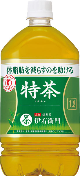 Iwayuru softdrink no omise   日本樂天市場: 把三得利綠茶伊右衛門特茶1L寵物12本入*2大量購買〔特定保健用食品特保トクホ茶身體脂肪減少到的〕