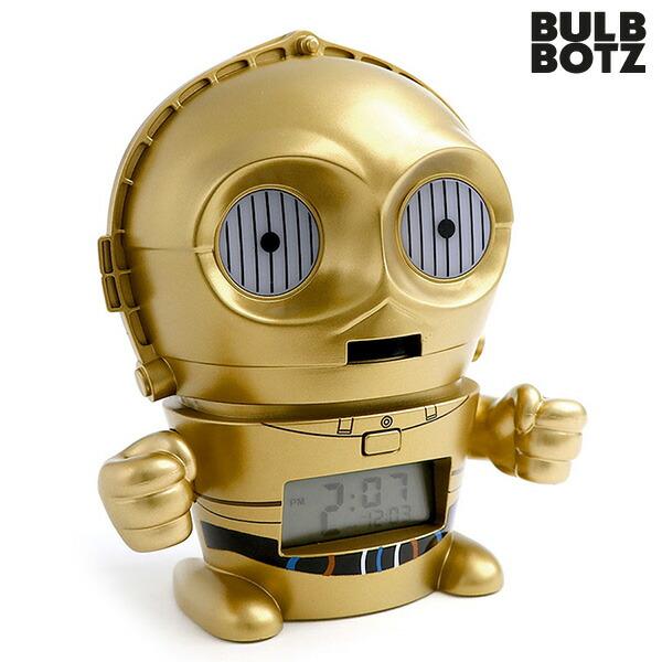 【楽天市場】目覚まし時計 子供 キャラクター スターウォーズ 最後のジェダイ C-3PO クロック...